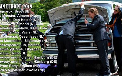 Europe Tour 2019