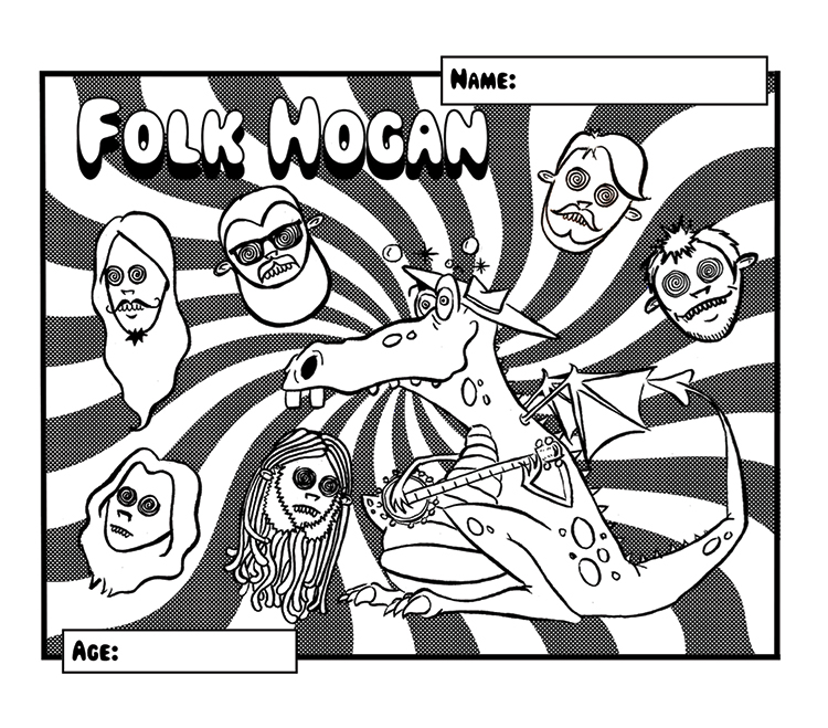 Folk Hogan Coloring Contest