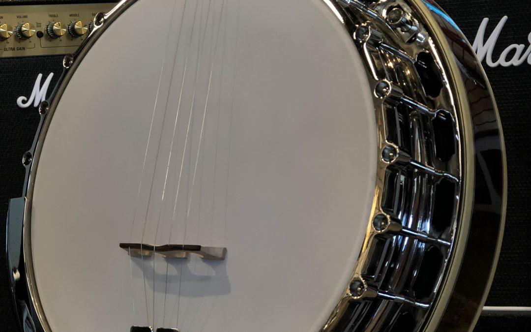 Kam's New Banjo